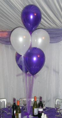 Helium Balloon Clusters Balloons Chair Cover Hire